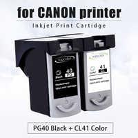 Topcolor PG40 CL41 Cartouche D'encre pour Canon PG 40 CL 41 Pixma iP1800 iP1200 iP1900 iP1600 MX300 MX310 MP160 MP140 MP476 imprimante