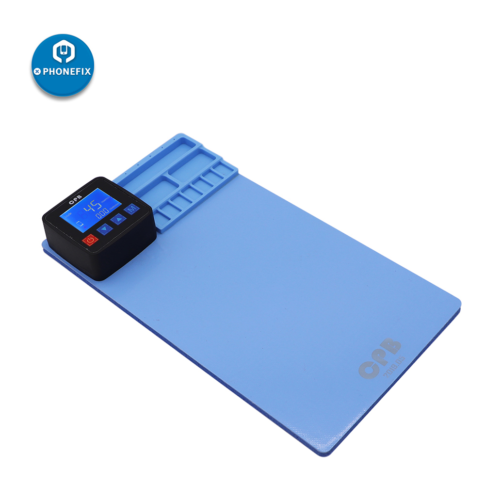 PHONEFIX CPB LCD Screen Opening Separate Tool Heating Rubber Pad Separator Phone Screen Disassembly Tool For IPhone IPad