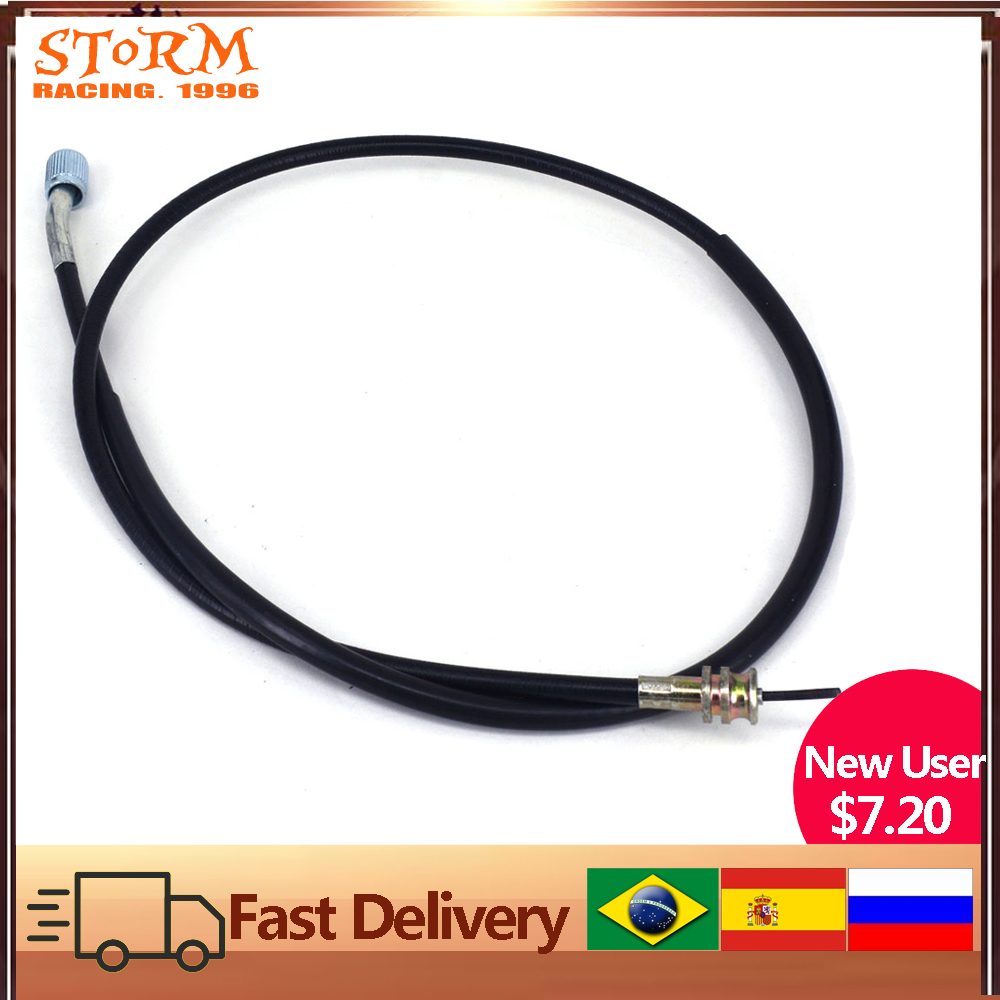 Motorcycle Black Speedometer Odometer Cable Line Wire For Suzuki DR250 DRZ400