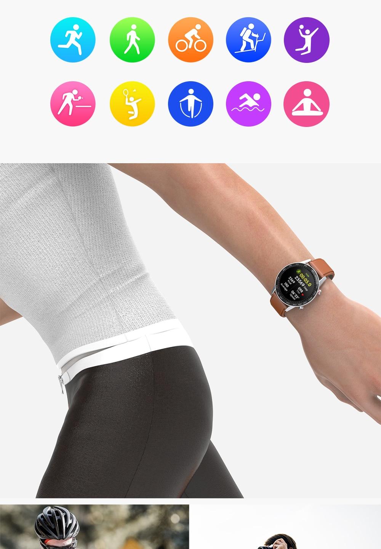 ecg pressão arterial esporte relógio 360*360 ips