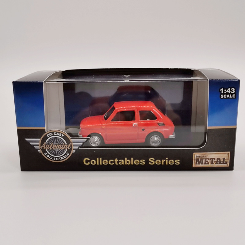 Big discount High quality collection Fiat 126 mode,1:43 alloy fiat <font><b>car</b></font>,Original packaging <font><b>model</b></font> gift,Best selling wholesale image