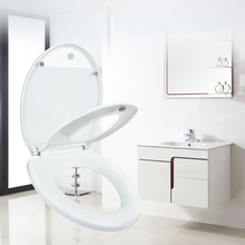 Double Layer Adult Toilet Seat Child Potty Training Cover Prevent Falling Toilet Lid For Kids PP Material Slow-Close Travel Pot