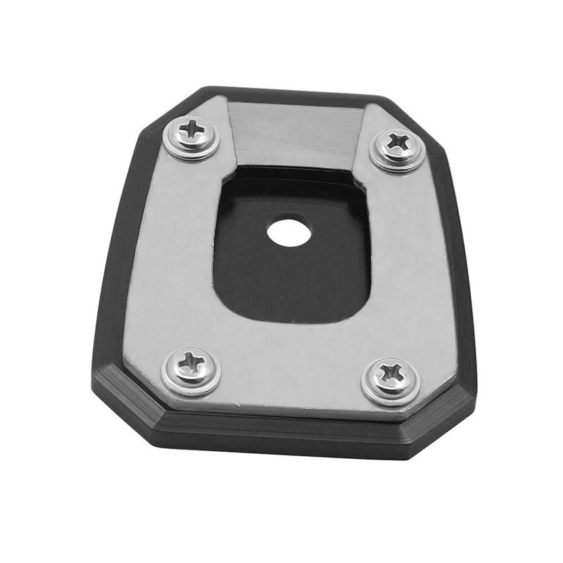 Kickstand Sidestand Stand Extension Enlarger Pad for Honda NC750 INTEGRA 14-16 CNC Aluminum Motorcycle Kickstand Foot Side Stand Extension Enlarger Pad Support Plate