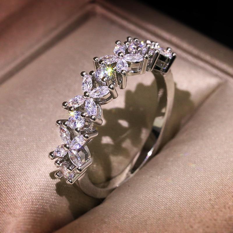Cubic Zirconia Ring for Women - 1MRK.COM