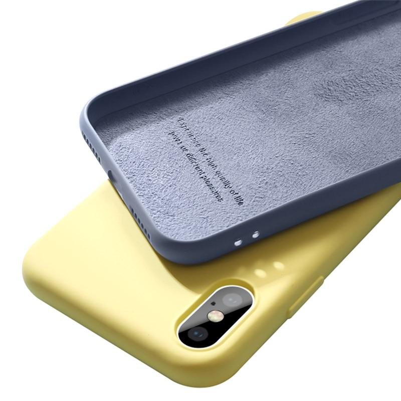 Liquid Silicone Phone Case for Samsung Galaxy a51 a71 s20 plus ultra m30s a30 a50 a70 a7 3