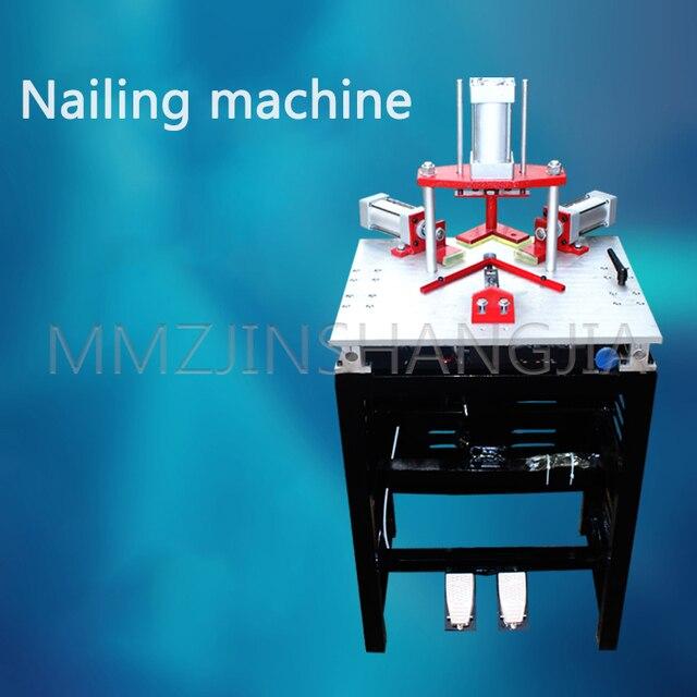 Фото направляющая четырехцилиндровая машина для резки гвоздей рамок цена