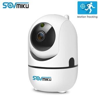 HD 1080P Cloud IP Kamera WiFi Wireless Smart Auto-Tracking Von Menschen Startseite Sicherheit Überwachung CCTV Netzwerk Kamera Baby monitor