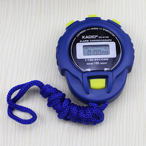 Image 3 - Classic Digital Professional Handheld LCD Chronograph Sports Stopwatch Timer Stop Watch With String 2020 New Sale