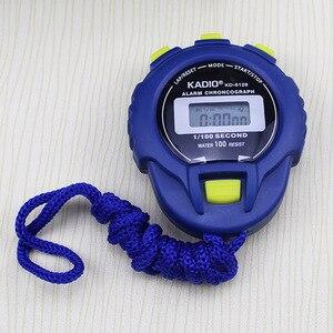Image 3 - קלאסי דיגיטלי מקצועי כף יד LCD הכרונוגרף ספורט שעון עצר טיימר להפסיק לצפות עם מחרוזת 2020 חדש מכירה
