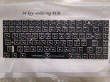 Keycool 84 لوحة مفاتيح ميكانيكية صغيرة PCB mini84 لوحة مفاتيح لعبة مدمجة
