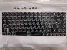 Keycool 84 mini teclado mecánico PCB mini84 compacto teclado de juego