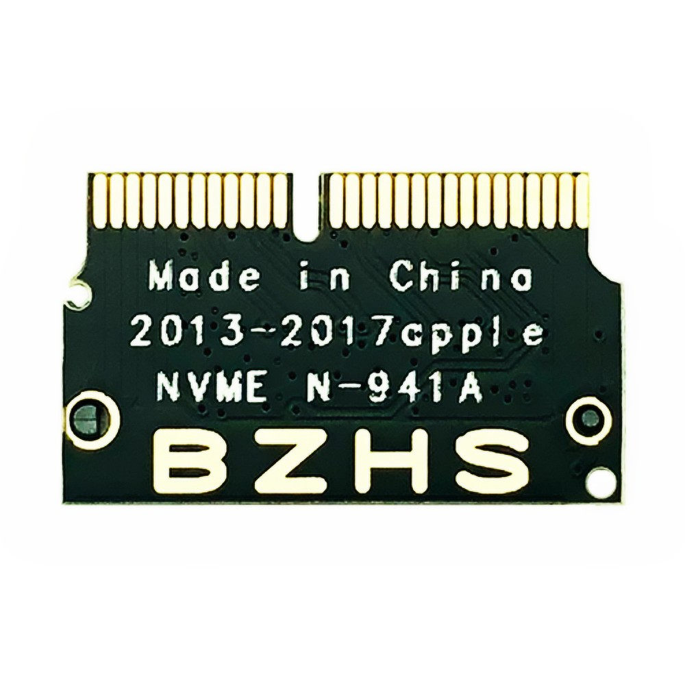 50pcs For <font><b>Macbook</b></font> Air SSD <font><b>M2</b></font> <font><b>Adapter</b></font> NVMe PCIE 2013 2014 2015 to M.2 NGFF SSD <font><b>Adapter</b></font> Card for <font><b>Macbook</b></font> Air Pro A1398 A1502 A1466 image