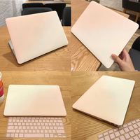 Solid Shell Laptop Case For MacBook Air 13 Pro Retina 11 12 13.3 15 Touch Bar For Macbook New Air 13 A1932 2018 Keyboard Cover