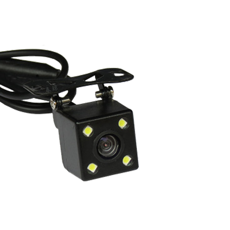 Car On Board Camera Universal Plug-CCD High-definition With LED Night Vision Rearview Reversing Monitor Visual Webcam
