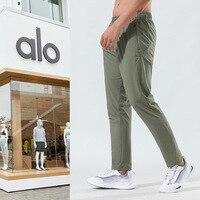 Pantalones de deportes nuevos para hombre, pantalón fino y suelto, transpirable, para ocio al aire libre, correr, entrenamiento de Fitness, verano/40