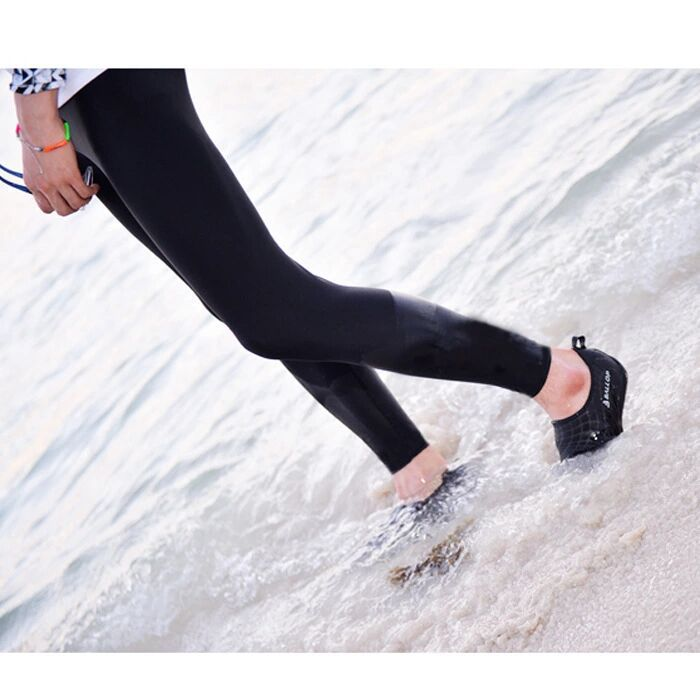 2019 Korean-style Outdoor Split Type Diving Pants Men And Women Trousers Tight Sun-resistant Surfing Swimming Trunks Quick-Dry P