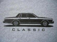 Caprice T-Shirt classique 1985-1990 boîte Chevy 1989 1988