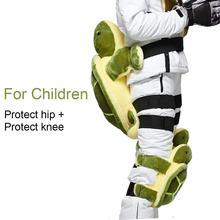 Задняя кость протектор бедра Анти-осень противоударный Черепаха Форма копчика защитная подушка для наружного зимнего катания на лыжах