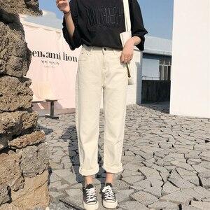 Image 3 - מכנסיים נשים 2020 מוצק פשוט כל התאמה ישר כיסי פנאי מכנסיים נשים גבוהה מותן Harajuku קוריאני מכנסיים Ulzzang שיק