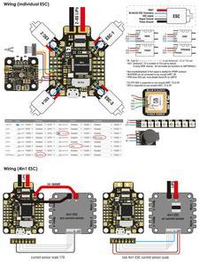 Image 5 - Matek CONTROLADOR DE VUELO F405 SE F405 SE, Sensor de corriente F4 para F405 CTR, mulicóptero RC actualizado, STM32F405RET6 OSD 5V/2A BEC