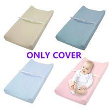 Мягкий дышащий хлопковый детский пеленальный коврик многоразовый