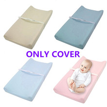 Soft Breathable Cotton Baby Changing Mat Cover Reusable Changing Table Pad Cover for Infants Boys Girls Shower Gift Nursery Supp