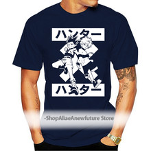 Killua Zoldyck Gon Freecss Hunter X Hunter T Shirt Adult Sizes Anime Manga O-Neck Fashion Casual High Quality Print T Shirt