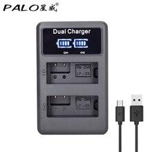 PALO LP E8 LPE8 LP E8 LCD Display USB camera Battery Charger for Canon EOS 550D 600D 650D 700D Rebel T2i T3i T4i T5i Kiss X4 X5