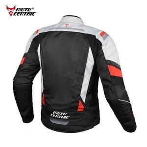 Image 4 - MOTOCENTRIC Motorcycle Jacket Suit Windproof Riding Motocross Jacket Protective Gear Motorbike Clothing Waterproof Chaqueta Moto
