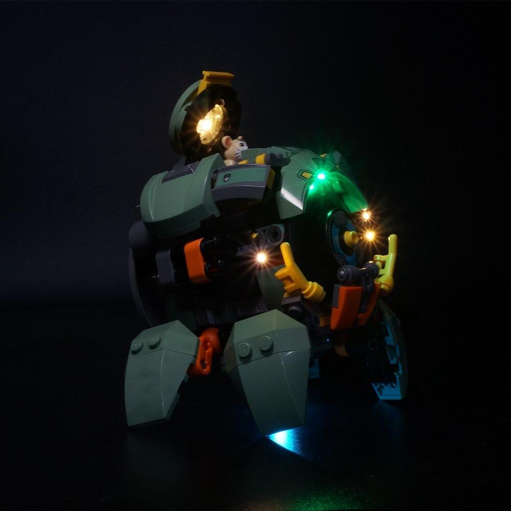 LED Light Kit For  75976 Wrecking Ball Model Building Blocks (only Light Included)