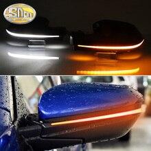 Sequencial led transformar a luz do sinal para honda civic 2016   2020 asa lateral retrovisor espelho indicador dinâmico blinker lâmpada luz do dia