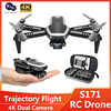 Mini Drone 4K WIFI HD Dual Camera Aerial Photography Six-axis Gyroscope RC Helicopter Altitude Hold Remote Control Drones Gift