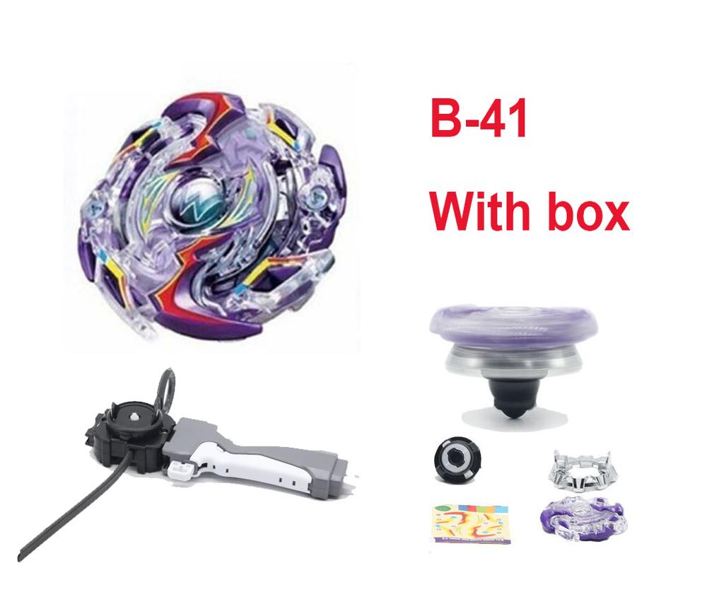 <font><b>Beyblade</b></font> <font><b>Burst</b></font> Toys B-133 B131 <font><b>B139</b></font> Band Launcher and Box Bables Metal Fusion Spinning Top Bey Blade Blades Toy Bayblade image