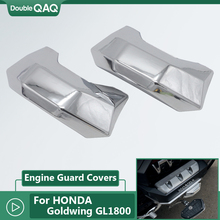 цены For Honda Goldwing F6B GL1800 Gold Wing Tour DCT Airbag Motorcycle Front Hood Chrome Trim Parts 2018 2019 2020