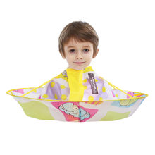 Children Kids Hair-Cutting Cloak 1pc Hair Warp DIY Hair Cutting Cloak Umbrella Cape Salon Barber Home Hairdressing Cape Cover(China)