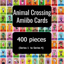 400 carte de croisement d'animaux carte Amiibo ensemble complet (série 1 à série 4)(China)