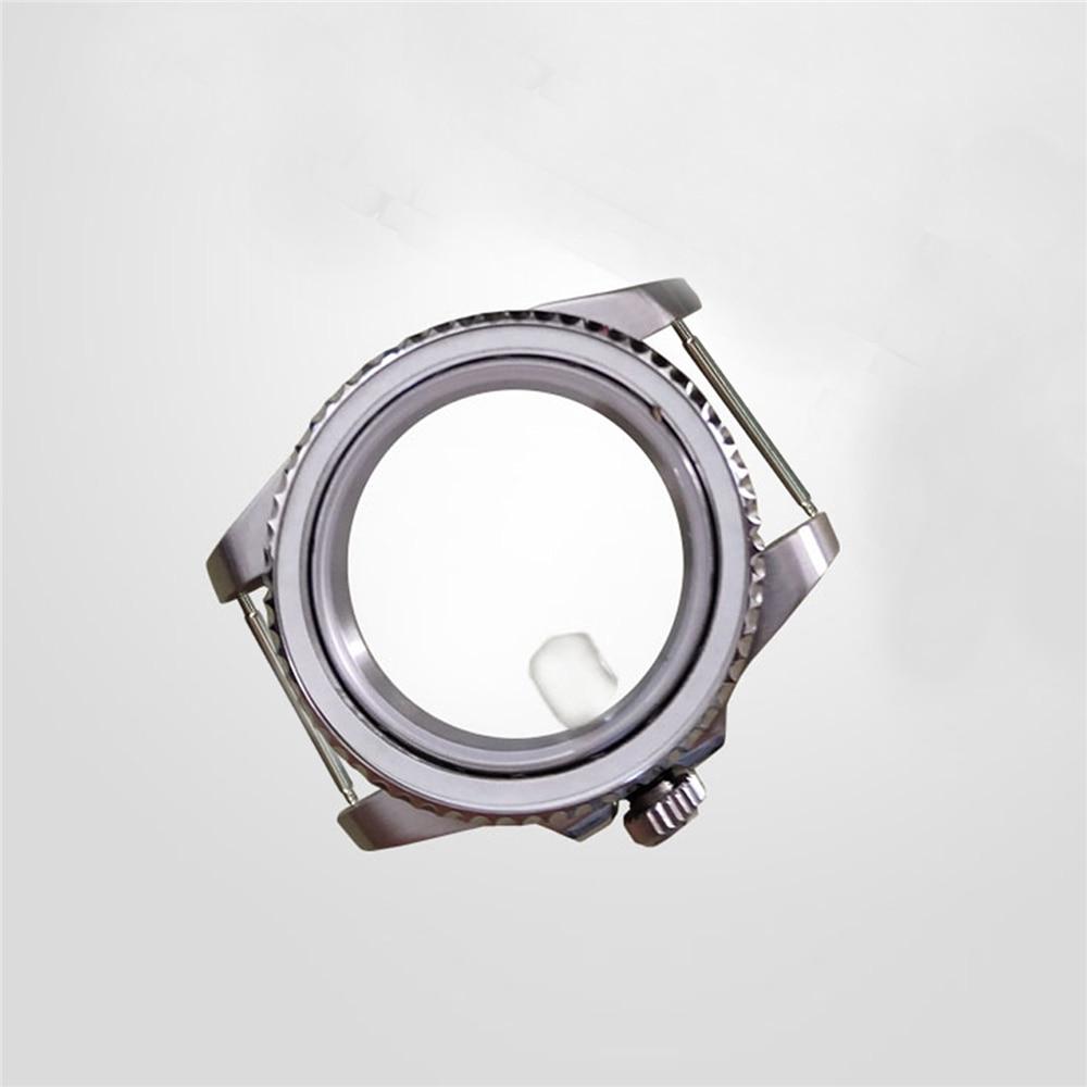 relógio aço inoxidável capa traseira dial conjunto