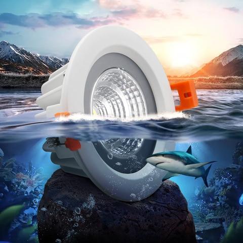agua recesso led cob downlight smd5730 5