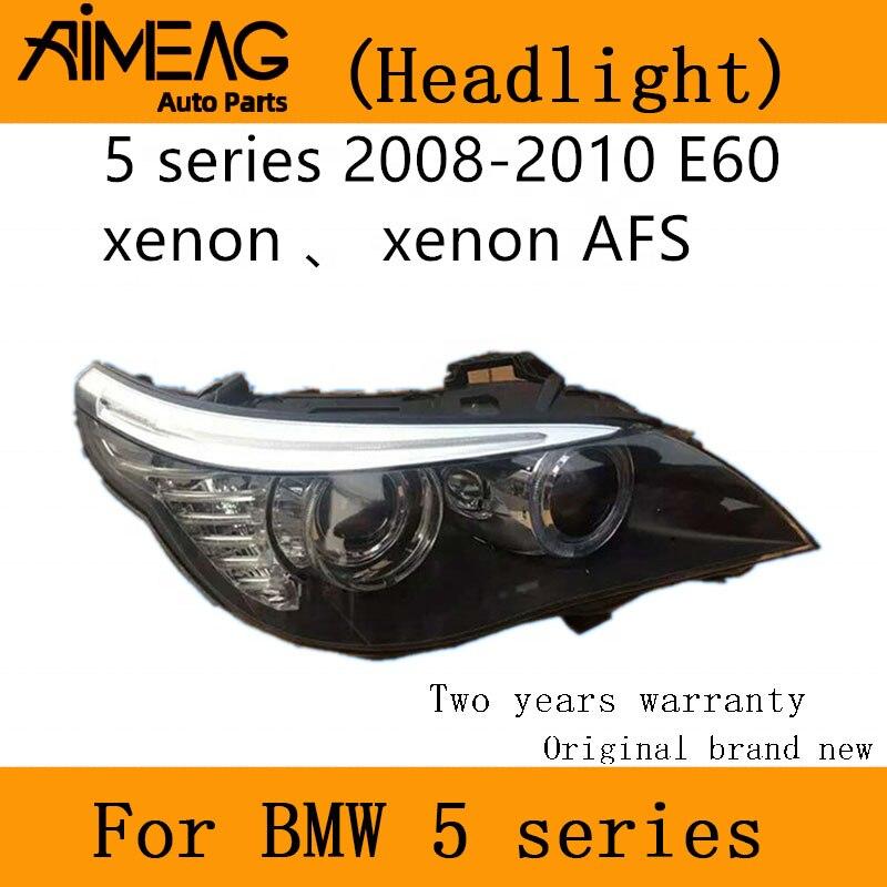 Made For BMW  2003-04 E60 523i 525i 530i LED Headlights Fit Original Car With HID