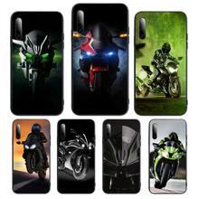 Kawasaki Ninja moto Phone Case For Samsung S Note20 10 2020 S5 21 30 ultra plus A81 Cover Fundas Coque