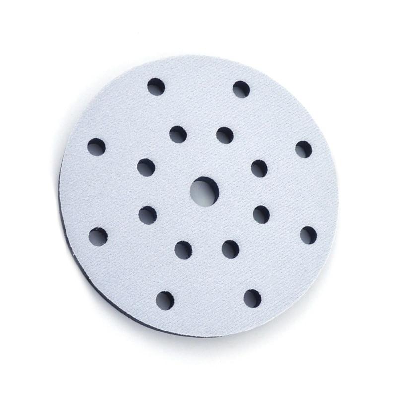 6Inch /150mm Sponge Interface Pad Hook Loop Sanding Disc Sander Backing Pads