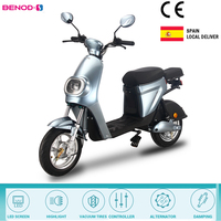 BENOD 350W Electric Motorcycle Scooters High Power 25KM/H Electric Bicycle Lithium Battery Motor Ebike Scooter Delivery Service 1