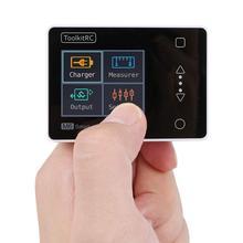 ToolkitRC M6 Caricatore Dellequilibrio Della Batteria 150 W 10A DC Scaricatore per 1 6 S Lipo LiHV Life Lion NiMh pb Cellulare Checker Servo Tester