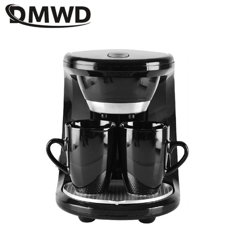 Dmwd 2 Cups American Coffee Machine Household Drip Coffee Maker Automatic Espresso Coffee Machine Tea Brewer Filter Brew Eu Us Coffee Makers Aliexpress