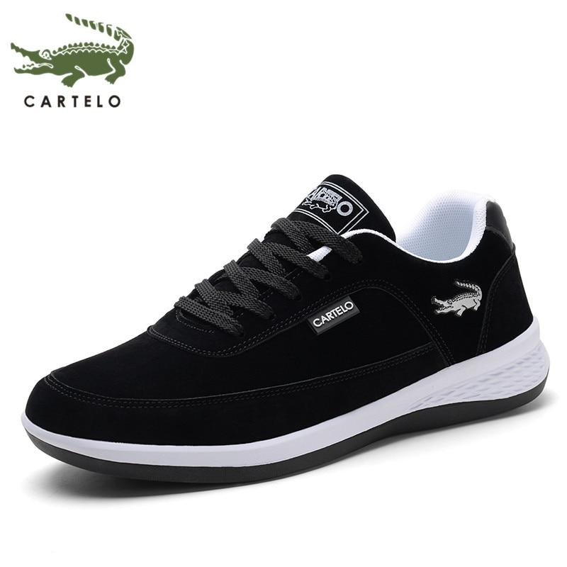 CARTELO new men's shoes fashion wild casual shoes men's non-slip wear-resistant outdoor shoes men's sports