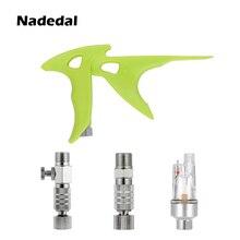 Control-Valve Airbrush Air-Hose Adjustment Airflow Nasedal for Coupling-Coupler 1/8-