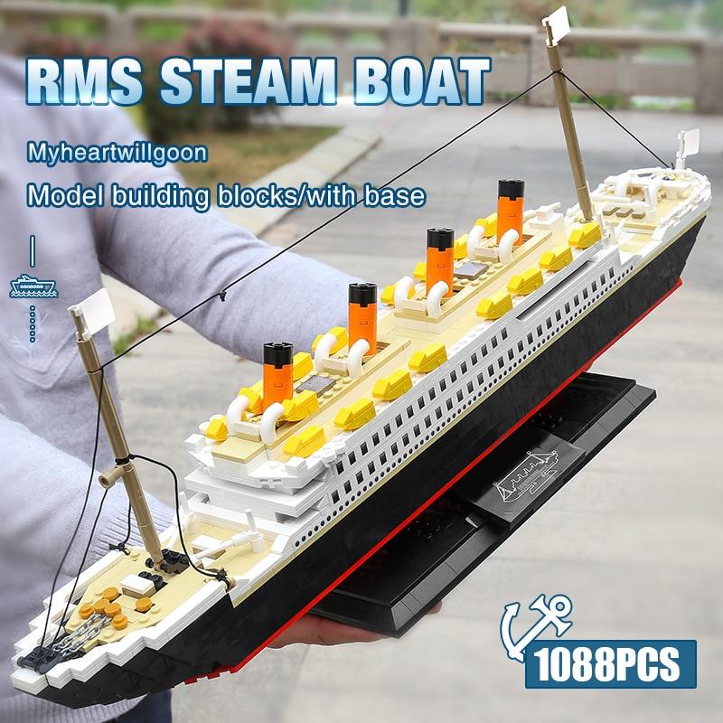 Yeshin PG15005 The MOC Royal Cruise Steam Ship Model