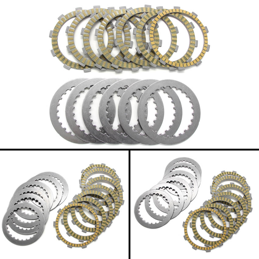 Clutch Friction Disc Plate Kit For Honda CRM250 MK3 NSR250 NSR250 CB400SS CL400 CBR400 CB500S CBF500 XL600V VT600 CB650F XR400SM