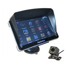 Capacitive-Screen Navigation Rearview-Camera 7inch AV-IN Car Gps Bluetooth 256M/8GB Sat