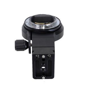 Image 4 - أدلى iShoot عدسة طوق القدم مع كاميرا Ballhead سريعة الإصدار بلايت لكانون EF EOS R ترايبود جبل الطوق